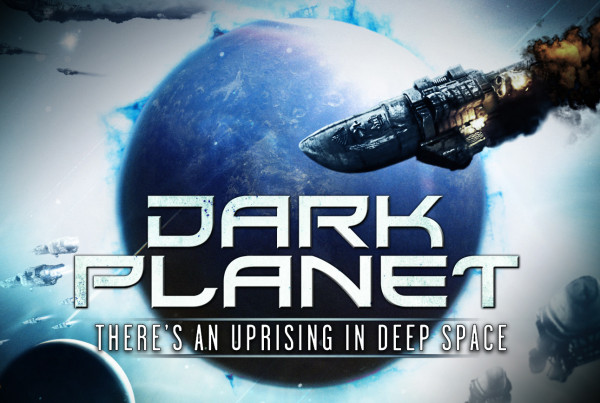 Dark Planet aka The Inhabited Island) - Film Poster